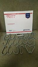 """1 3/8"""" Gate Clips Hooks Galvanized 24pcs chain link fence gate kennel"""