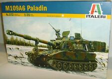 Italeri 372 - M109A6 Paladin - (1:35) Plastic Kit/Wargaming model
