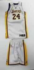 Custom 1/6 white 24 Kobe Bryant los angels jersey fit Enterbay