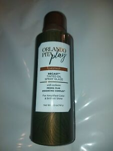 Orlando PITA Play Chestnut Recast Tinted Oil Temporary Hair Spray Glaze 5.0 oz