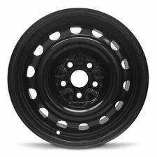 New 2009-2015 Volkswagen Tiguan 16x6.5 Inch Black Steel Wheel Rim 5 Lug 112mm