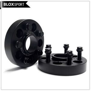 2pc 35mm wheel adapters 5x112 66.5 to 5x100 57.1 fit Mercedes Audi Macan