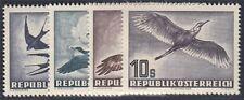 Österreich 1953 Flugpost Nr. 984-987 Vögel postfrisch