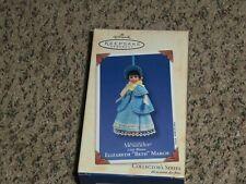 """HALLMARK 2003 MADAME ALEXANDER SERIES #3~LITTLE WOMEN~ELIZABETH """"BETH"""" MARCH"""