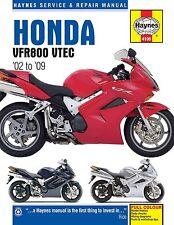 Haynes M4196 Service & Repair Manual for 2002-09 Honda VFR800 VTEC 782cc