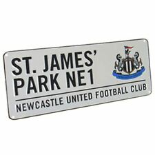 NEWCASTLE ST JAMES PARK FOOTBALL STREET SIGN KIDS BEDROOM FOOTBALL FAN