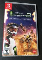 Monster Energy Supercross 2 [ The Official Videogame ] (Nintendo Switch) NEW