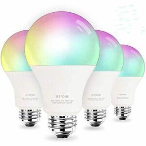 Smart Light App Bulbs 100W Equivalent WiFi LED Color Changing 2700K-6500K Alexa