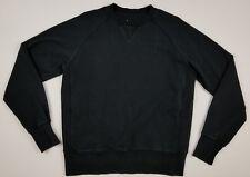 American Giant Men's Medium Black Crew Sweatshirt Classic