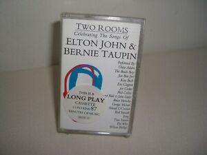 TWO ROOMS CELEBRATING THE SONGS OF ELTON JOHN & BERNIE TAUPIN LONG PLAY CASSETTE