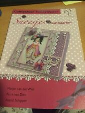 CRAFT BOOK CANTECLEER SNOESJES VAN KAARTEN  LANGUAGE DUTCH