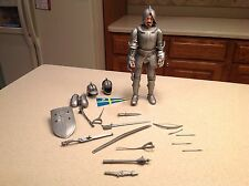 Vintage Marx Silver night Sir Stuart W/Tons Of Accessories 1960's Johnyy West