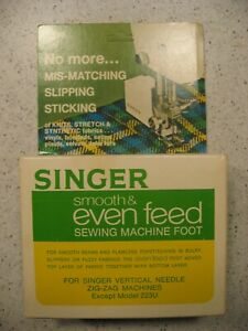 Vintage Singer Smooth & Even Feed C 470 Sewing Machine Foot