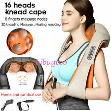 Back&Shoulder Shiatsu Keading Massager Electric Neck Massage Pillow with Heating