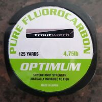 OPTIMUM MIRAGE PURE FLOUROCARBON 4.75LB 125YDS (2 x Spools)