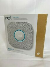 Google Nest Protect - Wired 120V - Smart Smoke & Carbon Monoxide Alarm - NEW