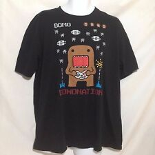 Domo Domonation T-Shirt Video game Black Size XL Cotton