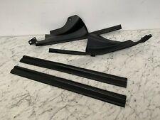 BMW 3 series Inner Door Black Interior Carpet Fixing Trims x4 E36 Saloon Touring