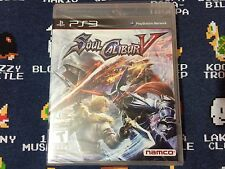 Soul Calibur 5 BRAND NEW SEALED  (Sony PlayStation 3, 2012)