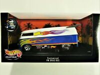 HOT WHEELS 1999 BIG 1:18 SCALE VOLKSWAGEN VW VAN DRAG RACING BUS NEW IN PACKAGE