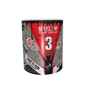 Michael Dunlop Oily Mug Design
