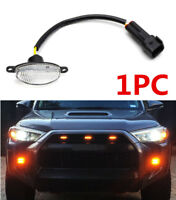 1x For Ford Raptor Style Front Grille Plug Play Amber LED Running Light Lighting