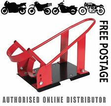 """Sealey Motorcycle Motorbike Stand Front Wheel Chock Holder Stay 17"""" to 21""""  FPS6"""