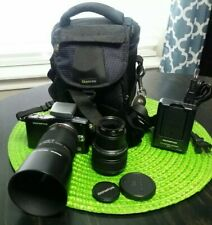 Olympus PEN E-PM1 12.3 MP Digital Camera - Silver (Kit w/ 14-42mm, 40-150mm )