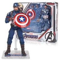 "Avengers: Endgame Marvel Captain America Thor War Machine 7"" Action Figure Toys"