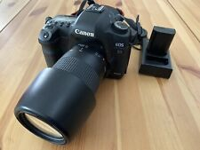 canon 5d mark ii with lens 75-300 mm with Extra Battery
