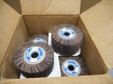 """10 Merit 3-1/2"""" x 2"""" x 5/8"""" Grind-O-Flex 80 Grit Flap Wheels. FREE SHIPPING!"""