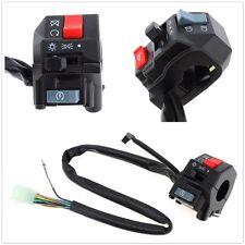 "2x Waterproof Motorcycle 7/8"" Handlebar Switch Horn Turn Signal Light Controller"