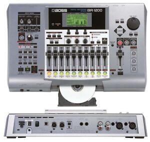 BOSS BR-1200CD 8 MULTI TRACK DIGITAL RECORDER RECORDING STUDIO USB 800 900 1600