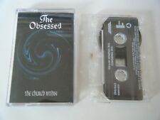 THE OBSESSED THE CHURCH WITHIN CASSETTE TAPE SONY COLUMBIA USA 1994