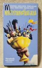 MONTY PYTHON AND THE HOLY GRAIL Vhs Video Tape 1974 Movie John Cleese Eric Idle