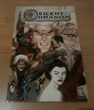WILDSTORM - SILENT DRAGON TPB - ANDY DIGGLE - LEINIL YU - SIGNED EDITION OOP NM