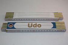 Zollstock mit  NAMEN      UDO   Lasergravur 2 Meter Handwerkerqualität