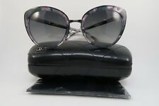 Chanel Women's Black Sunglasses with Case 4208 c.464/S8 Polarized 56mm