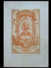 CLAUDE GILLOT, THETIS - GRAVURE SANGUINE 1860 - AUGUSTE PEQUEGNOT