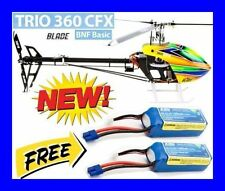 Blade Trio 360 CFX BNF Basic RC R/C Helicopter With 2X 6S Free Battery BLH4755