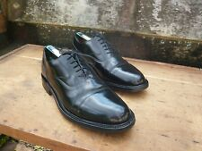 Cheaney Oxford Hombre Zapatos – Negro – UK 8.5 – Herne-Excelente Estado