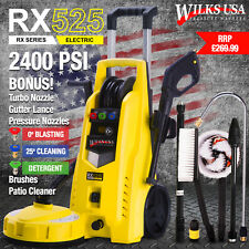 Wilks-USA RX525 Electric Pressure Washer - 2400 PSI - VERY GOOD USED ITEM
