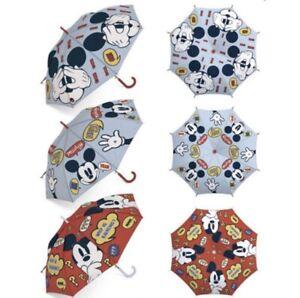 Disney Mickey Mouse Umbrella,Children's Umbrella Official Red Or Light Blue