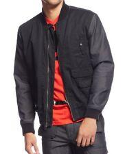 NWT Sean John Men's Two-Tone Bomber Black Jacket Size L RTL $99.50