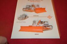 Allis Chalmers HD-11 Crawler Tractor Dealer's Brochure YABE14 ver24