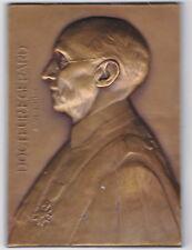 MEDAILLE ,Le DOCTEUR Ernest GERARD,PROFESSEUR à l'UNIVERSITE de LILLE 1933