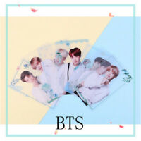 7Pcs Kpop BTS Transparent PVC Photo Cards Bangtan boys SUGA V Photocard Poster