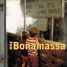 JOE BONAMASSA - So It's Like That - (CD + Bonus DVD) - RARE Out Of Print