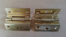 "Stormproof Hinges BZP 2.1/2"" ** AMAZING OFFER - PRICE IS FOR 5 PAIRS **"