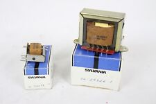 2 Vintage NOS NIB Sylvania Transformer TV Part 56-29826-1 56-3569-31 Repair Rare